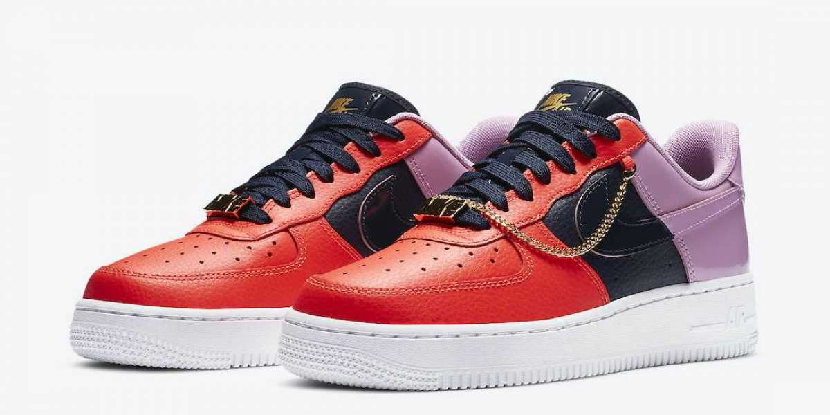 "CZ8100-600 Nike Air Force 1 ""Cuban Link"" For Sale"