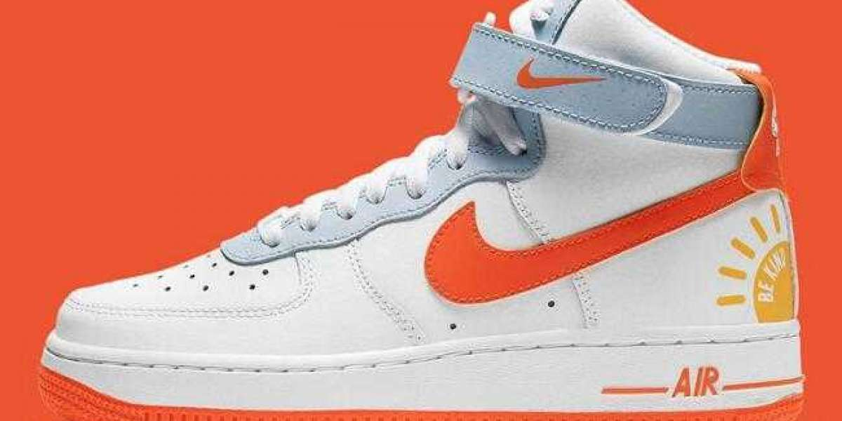 Latest DC2198-100 Nike Air Force 1 High Be Kind to Release