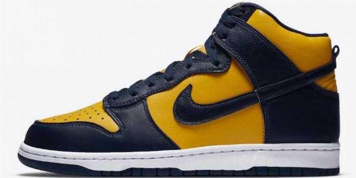 Where to Buy New Nike Dunk High Michigan  ?