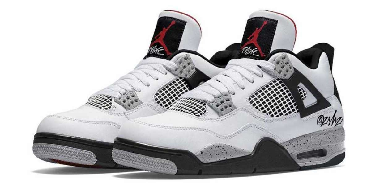 """Latest Nike Air Jordan 4 """"White Cement"""" CT8527-100 To Release On May 29th 2021"""