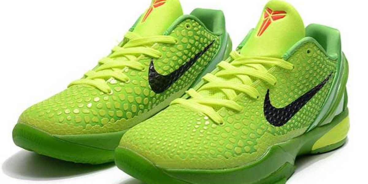 "Ten years later, Kobe 6 is back again! Nike Wmns Kobe 6 Protro ""Grinch"" 2020 New Released CW2190-300"