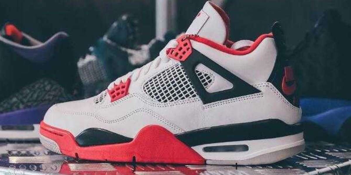 Where to Buy Latest Air Jordan 4 Fire Red Sport Sneakers ?