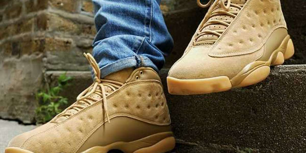 "Tooling style Air Jordan 13 ""Wheat"" are you satisfied with the top foot?"