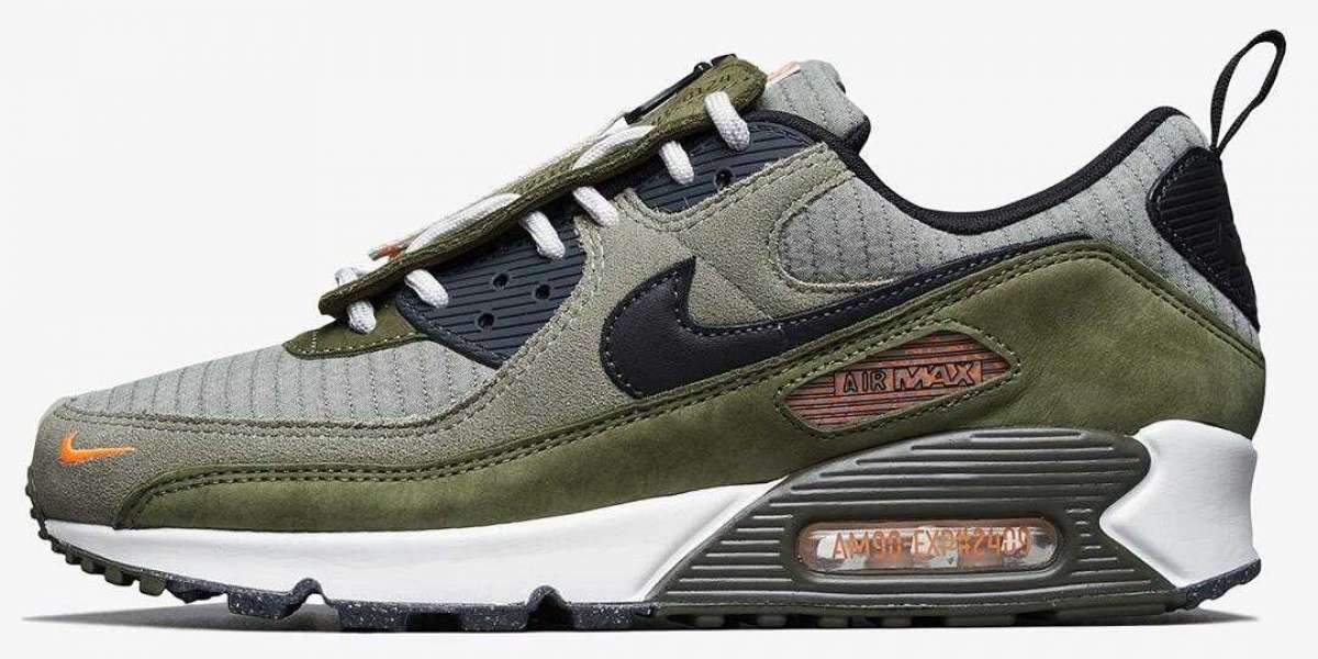 """Nike Air Max 90 """"Surplus Supply"""" Releasing With Removable Tongue Shrouds"""