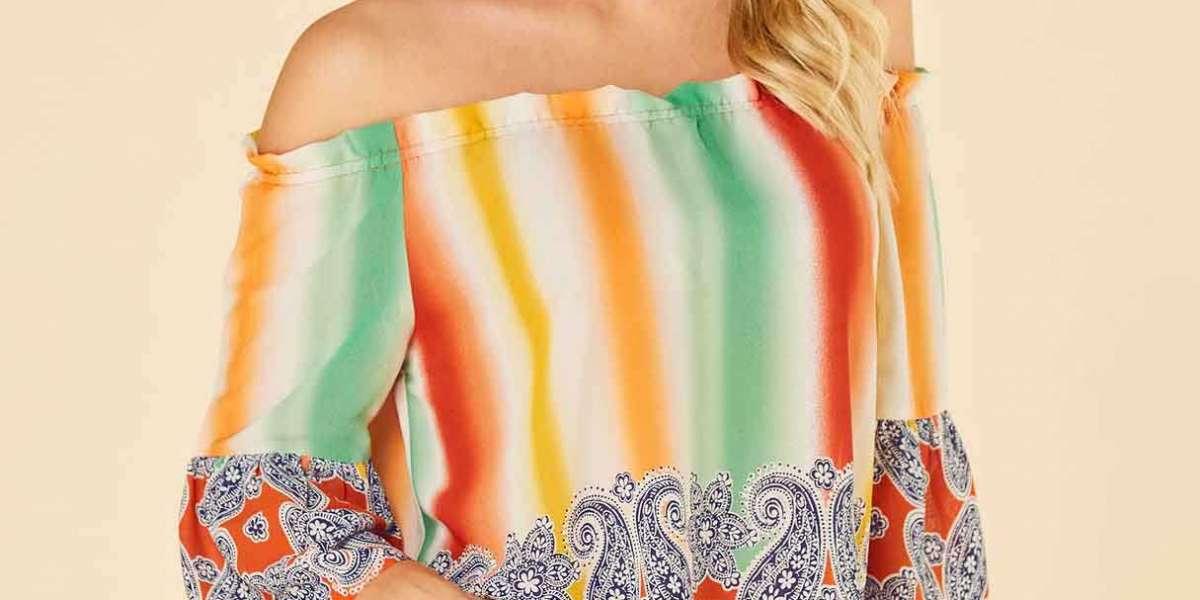 Round Neck Lace Short Sleeve Irregular Hem Plus Size Tops