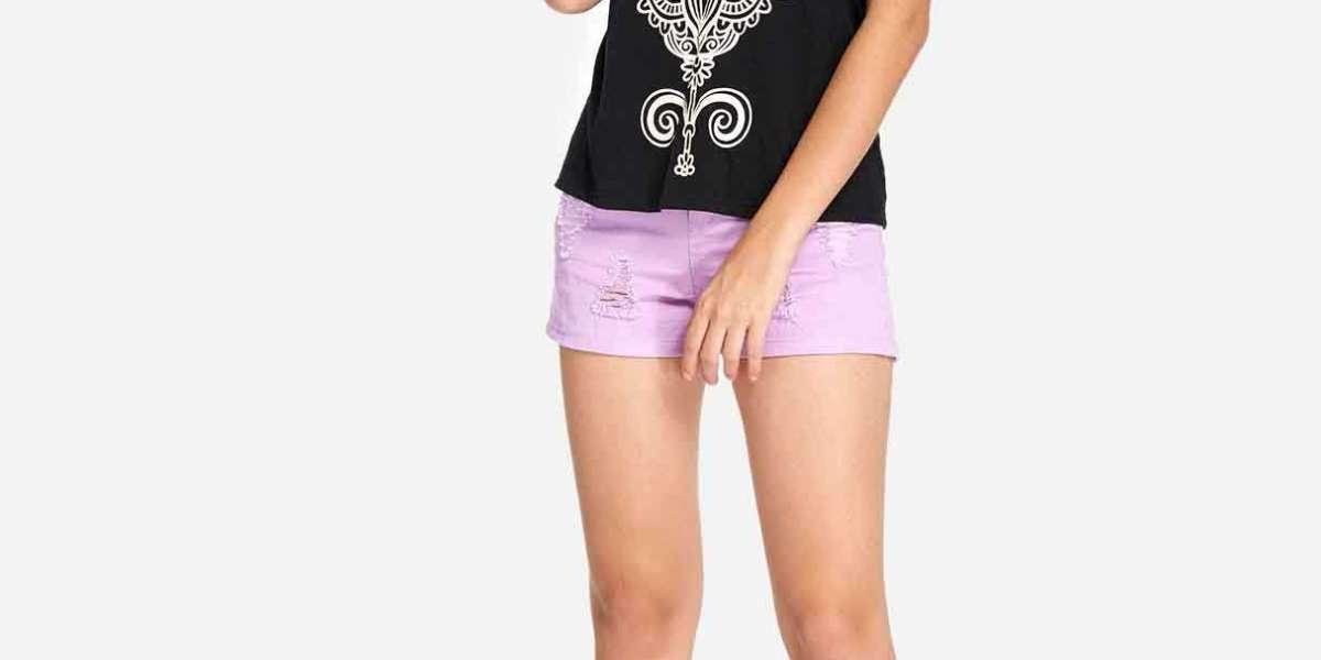 Scoop Neck Hollow Sleeveless Black & Purple Plus Size Swimwear