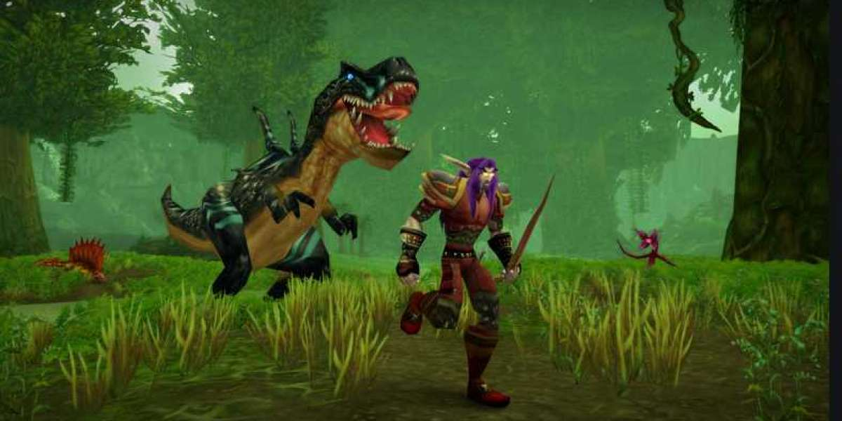 In the 3D rendering, Thunder Bluff in World Of Warcraft has undergone a facelift
