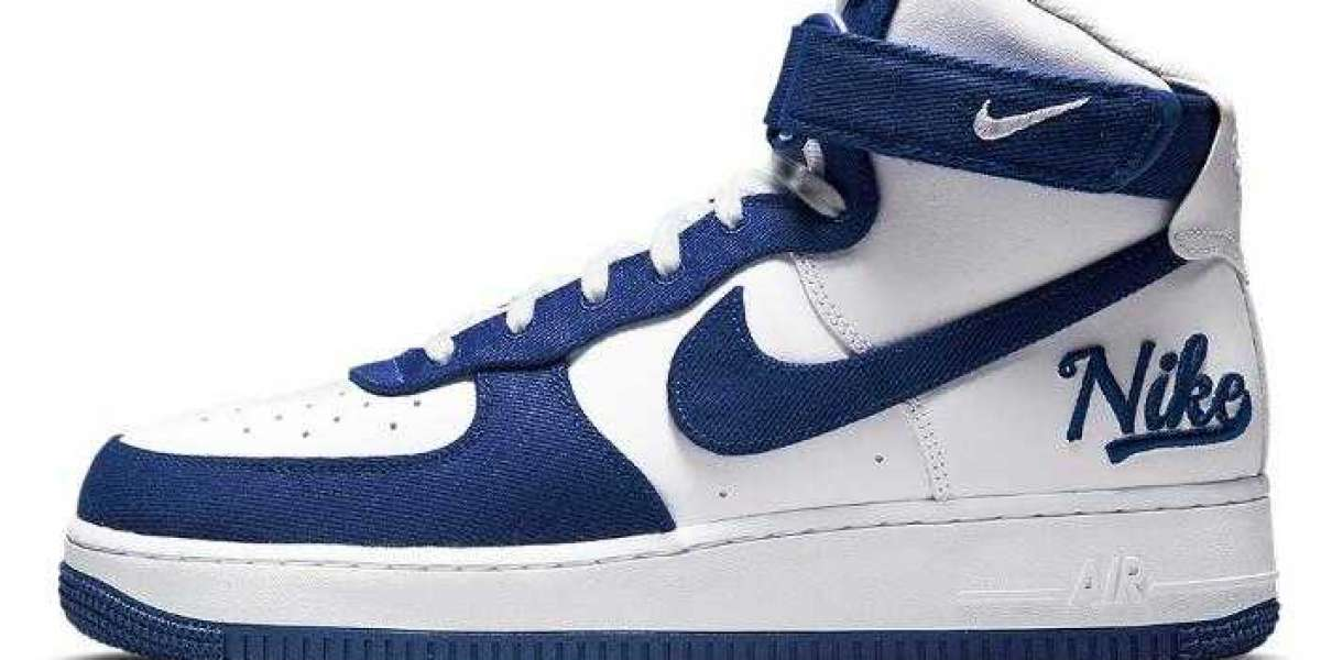 Latest Nike Air Force 1 High EMB Releasing a Dodgers-Friendly Makeover
