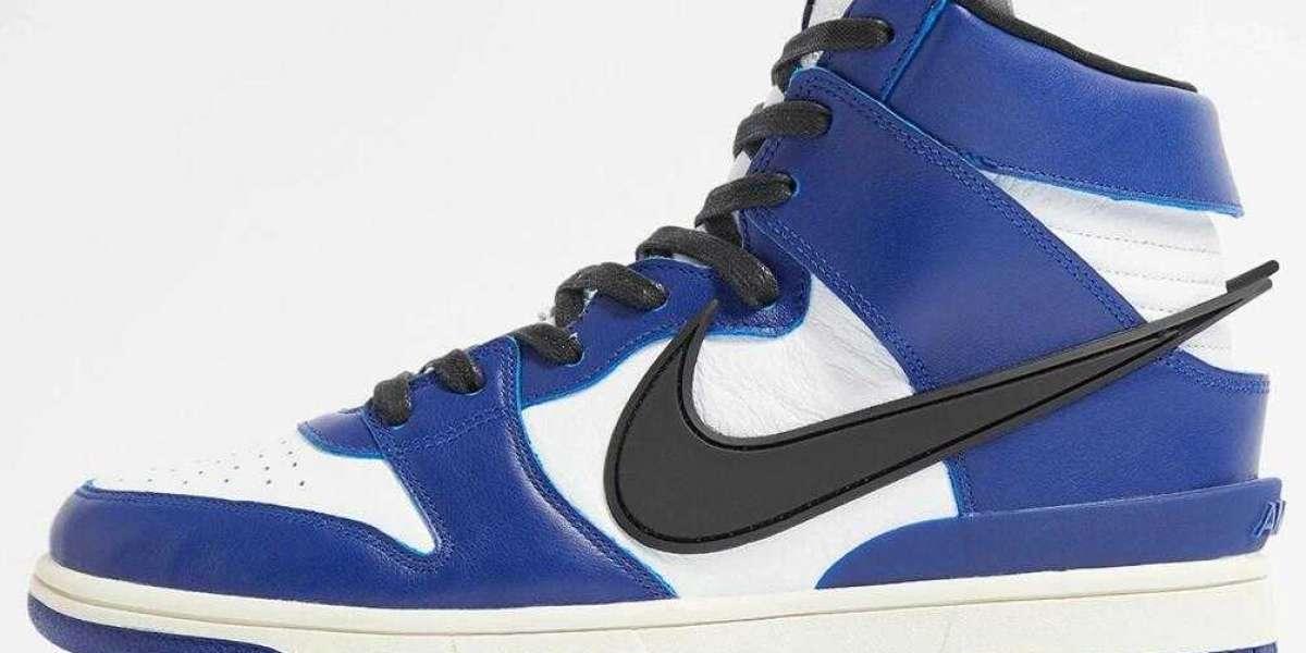 Buy The AMBUSH x Nike Dunk High Deep Royal Blue Free Shipping