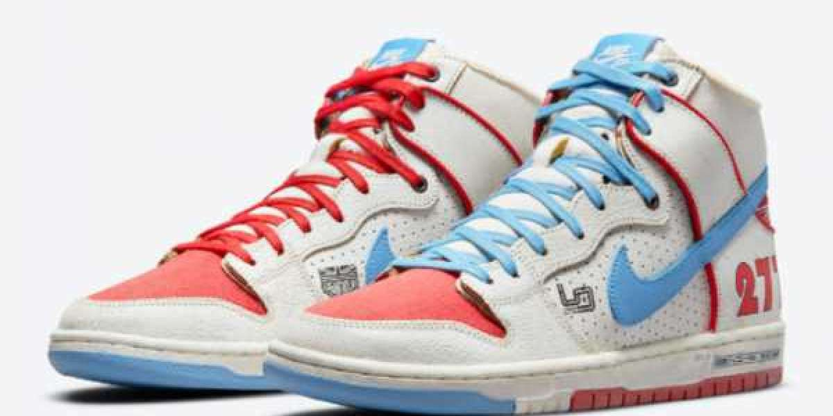 Hot Sale Ishod Wair x Magnus Walker x Nike SB Dunk High DH7683-100