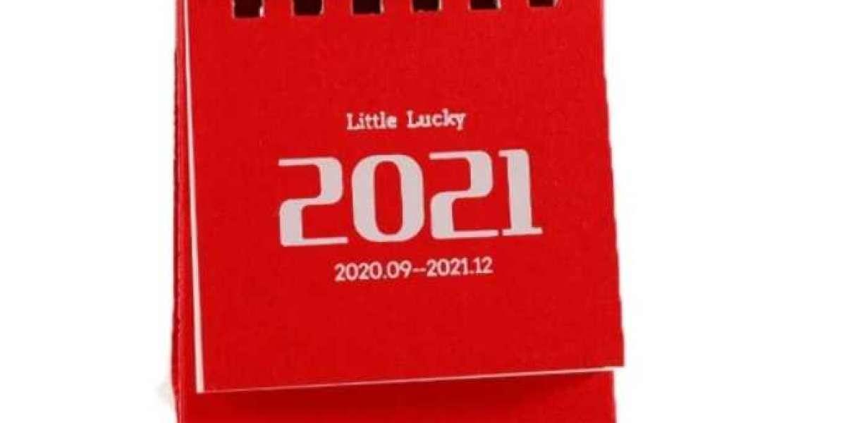 ¡Recomendación de calendario personalizado 2021!