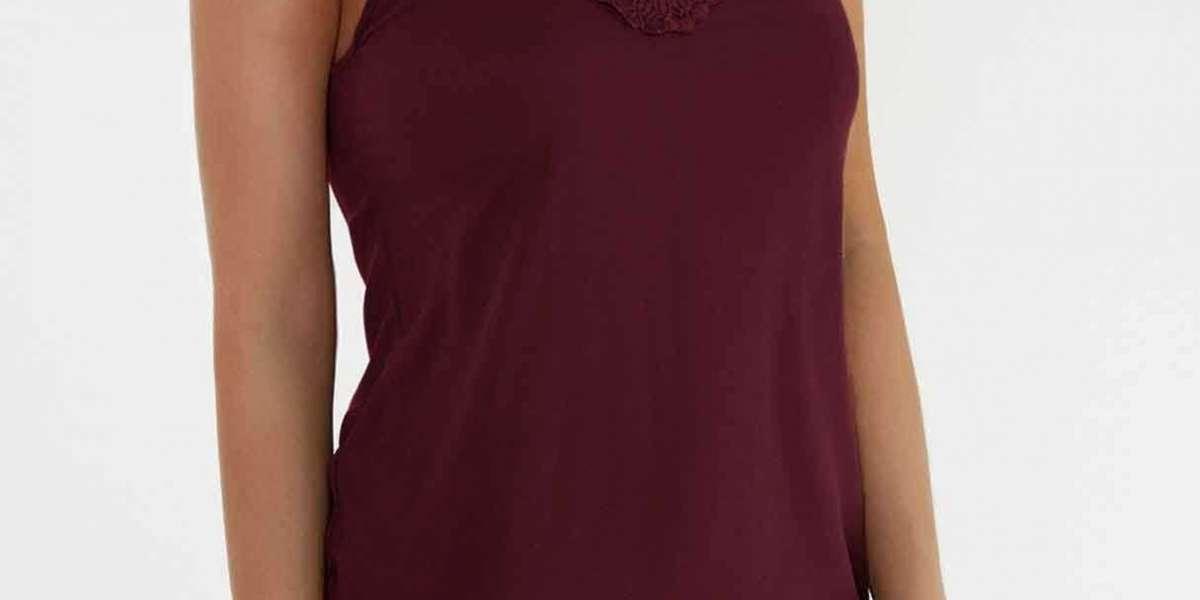 V-Neck Long Sleeve Slit Hem Pink Top