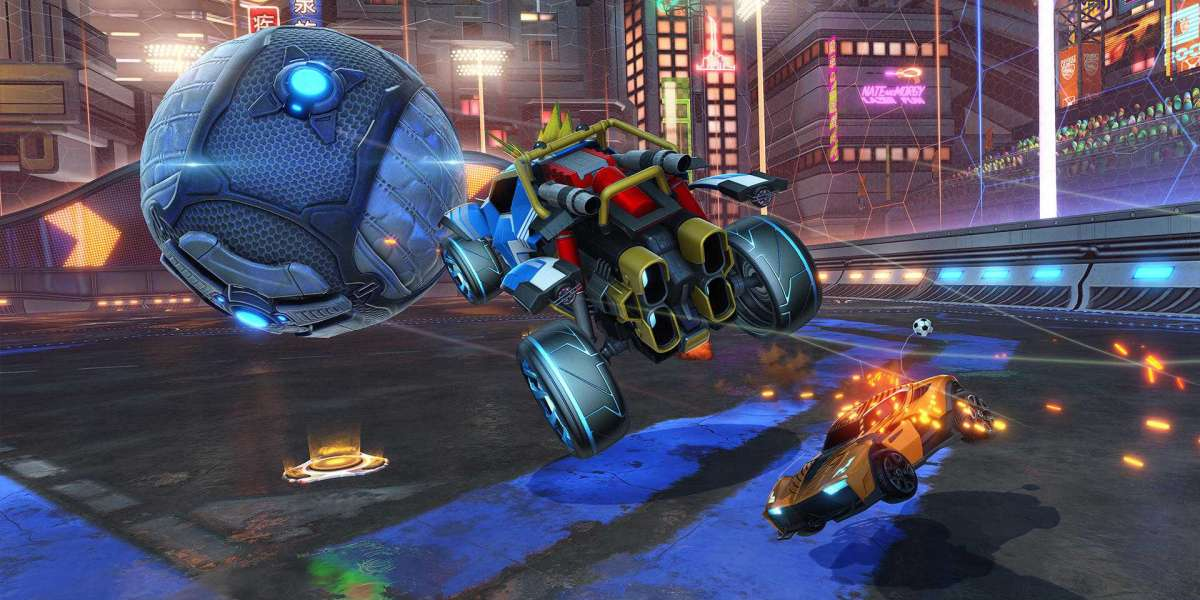 Rocket League with an esports occasion in the not so